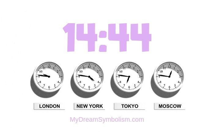 Thường mơ thấy con số 14:44 có ý nghĩa gì?
